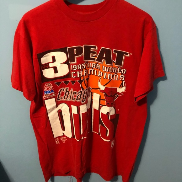 Fruit of the Loom Other - 1993 Chicago Bulls 3-Peat Shirt